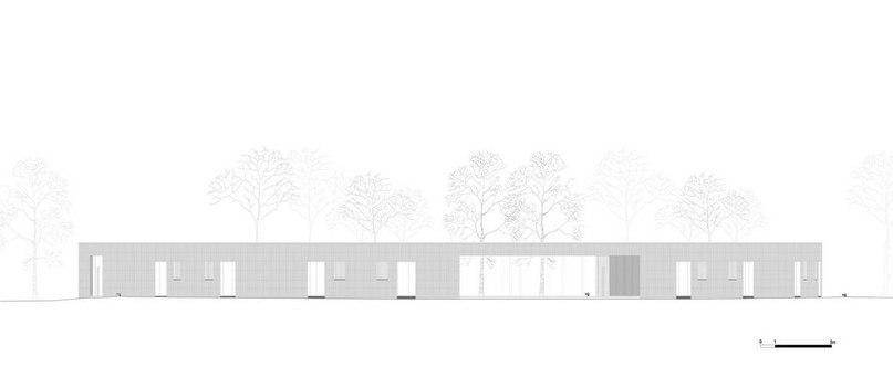 Хостел Вади (Hostel Wadi) в Бельгии от Studio Bernardo Secchi