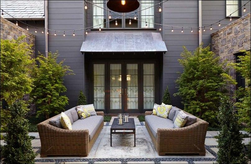 Резиденция Нэшвилл, разработанная студией архитектурного дизайна Bonadies Architects, прекрасно воплощает в себя традиционный фермерский дом с современным стилем роскошной жизни.