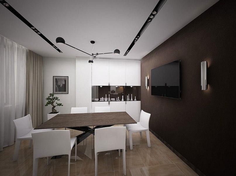 Украинская студия дизайна интерьеров Medianyk Studio представила проект 50 Shades of Coffee, что в переводе означает «50 оттенков кофе».
