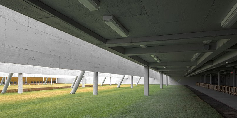 Magma Architecture completes spiky shooting range for Pan American Games