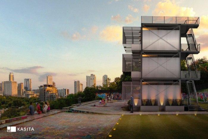 В США был создан уникальный концепт модульного жилища для городов.
