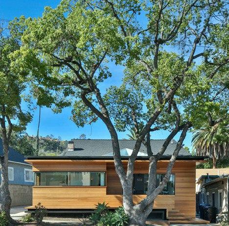 Martin Fenlon puts contemporary face on historic bungalow near downtown LA