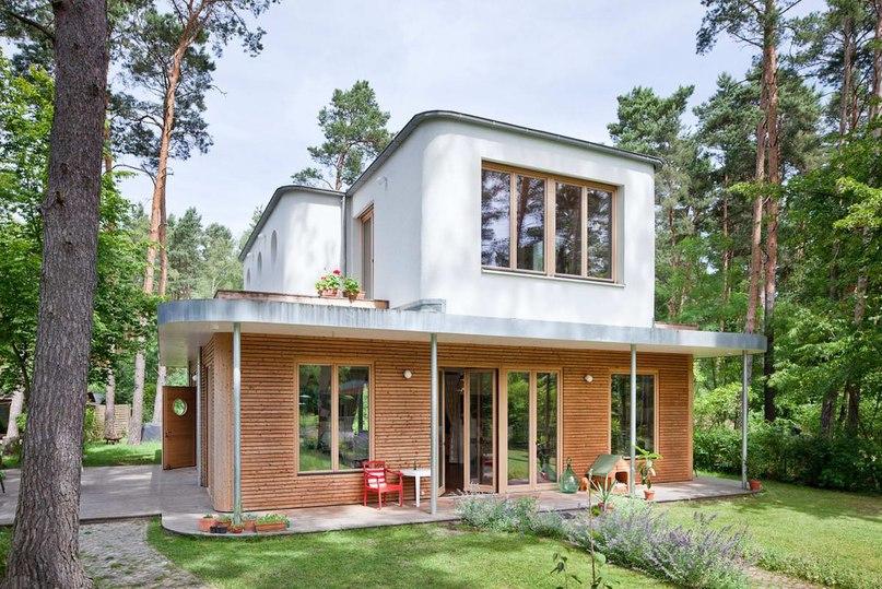 Дом-ателье Z140 (ATELIERHAUS Z140) в Германии от Müllers Büro.