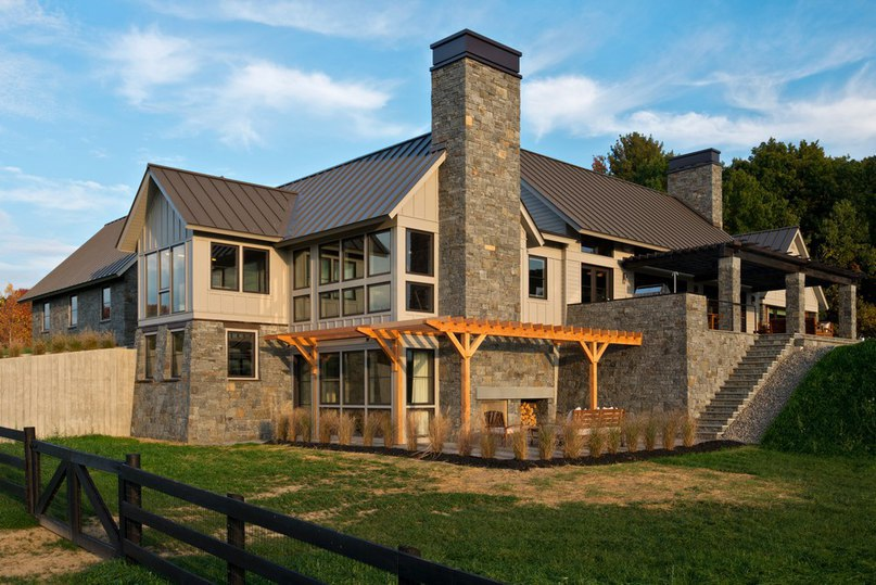 Blending Traditional New England Architecture with Modern Design: Skyfall Residence (Part 1)