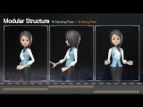 Presentation With Cathy: Office Uniform - VideoHive (After Effects)