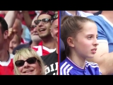 Arsenal and Chelsea fans' rollercoaster reactions during the FA Cup final.