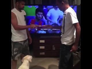 Коста наказал своего друга за поражение в FIFA 17