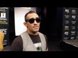 """Тони Фергюсон на UFC 209 media day - """"На этот раз у меня есть тренер, готов идти все 5 раундов прямо сейчас!"""""""