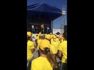 Талисман Кубка губернатора Челябинской области по водному поло на фестивале «Я выбираю спорт»