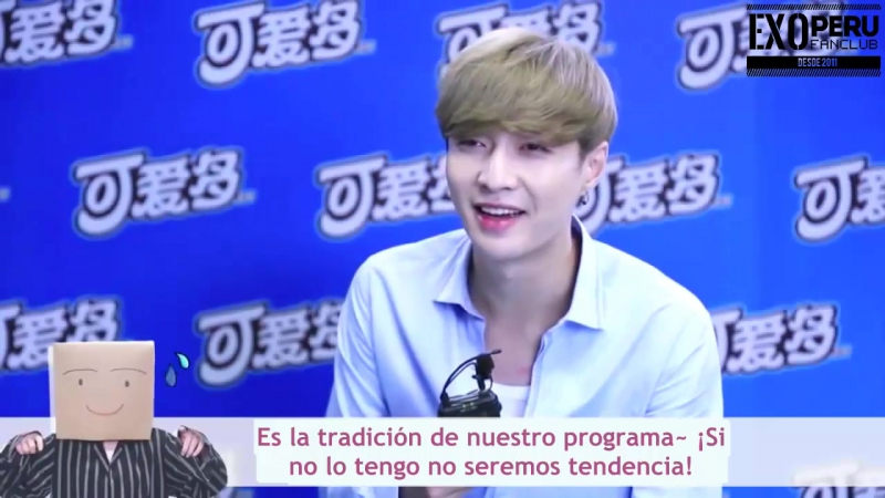 [SUB ESP] 17/08/12 - Lay @ Entrevista de Youku The Groovin