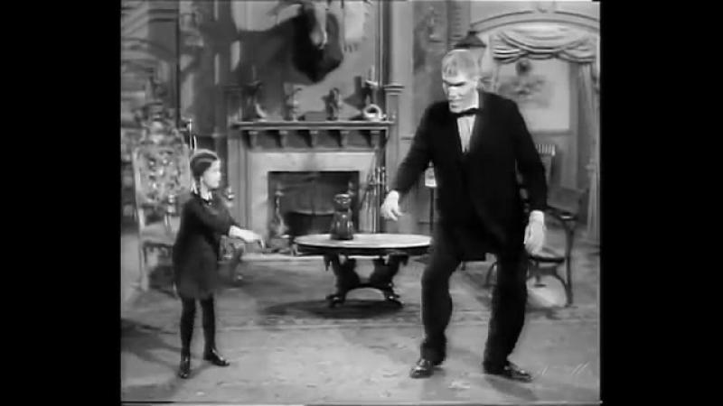 Семейка Аддамс. Танец Венcди и Ларча.