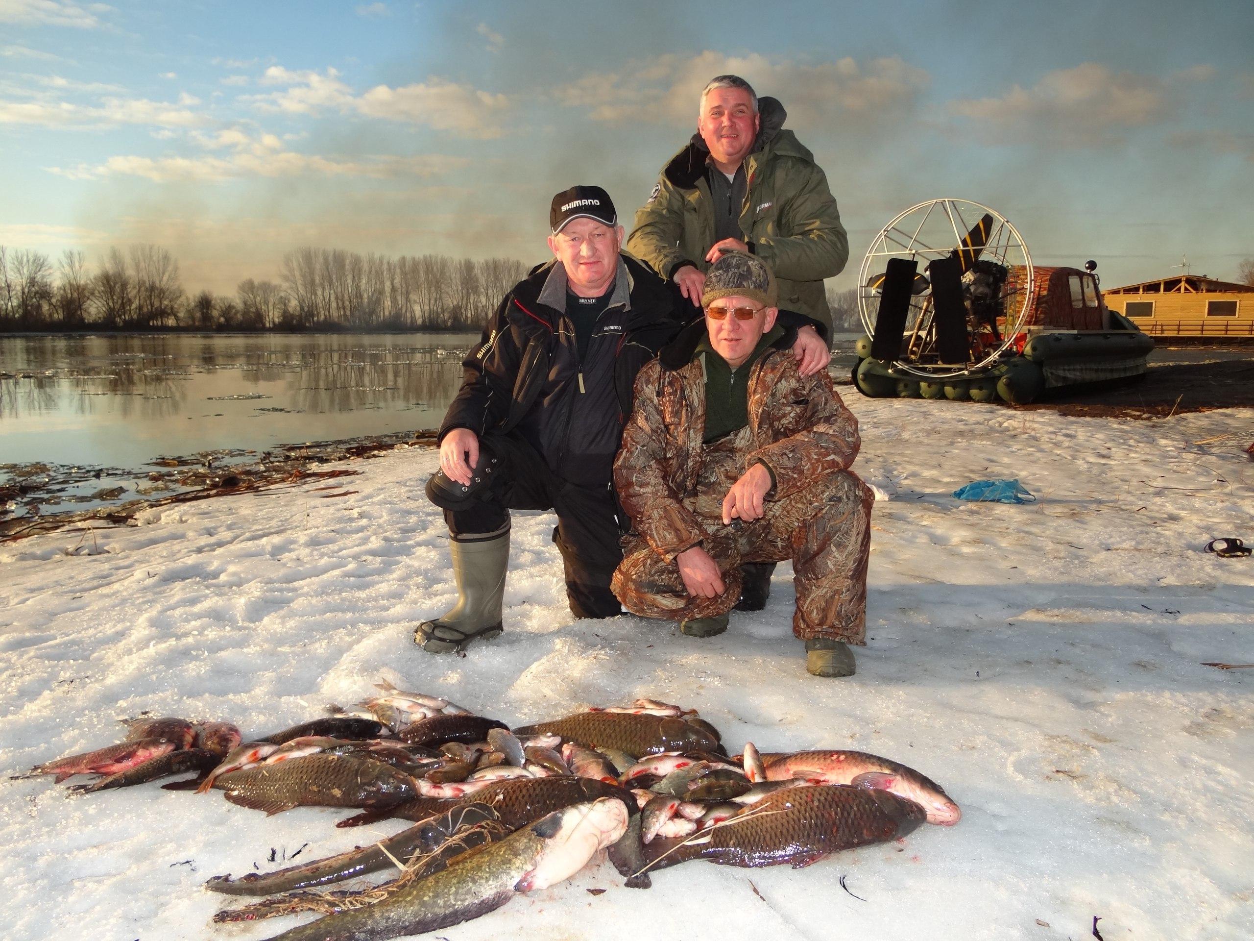Рыбалка гостей 28-02-16  |«Застава»|