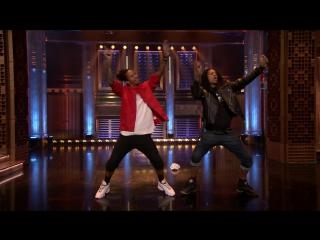 Les twins on the tonight show starring jimmy fallon nbc 2017