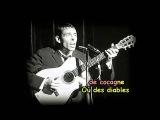 Jacques Brel - Le Plat Pays avec lyrics 1964