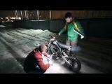 Китайский мотоцикл с деревянным поршнем. ПОЕХАЛИ /Chinese motorcycle with wooden piston.GO