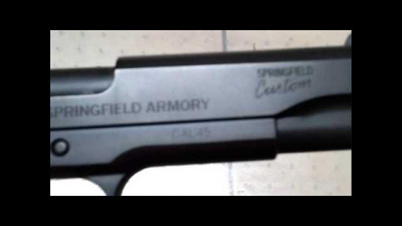 Springfield Armory Professional .45 (FBI)