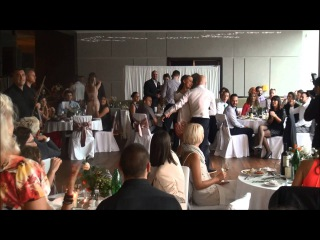 Сербская свадьба Йована и Юли