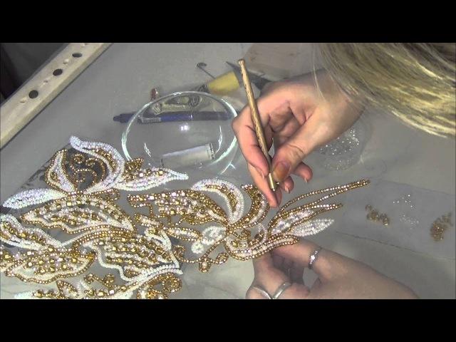 Люневильская вышивка от Виктории Бойко (вышивка люневильским крючком в авторской интерпретации )