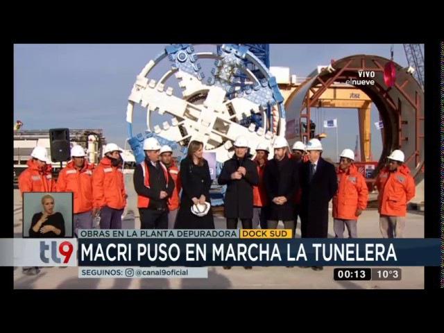 Salini Impregilo Macri puso en marcha la tunelera