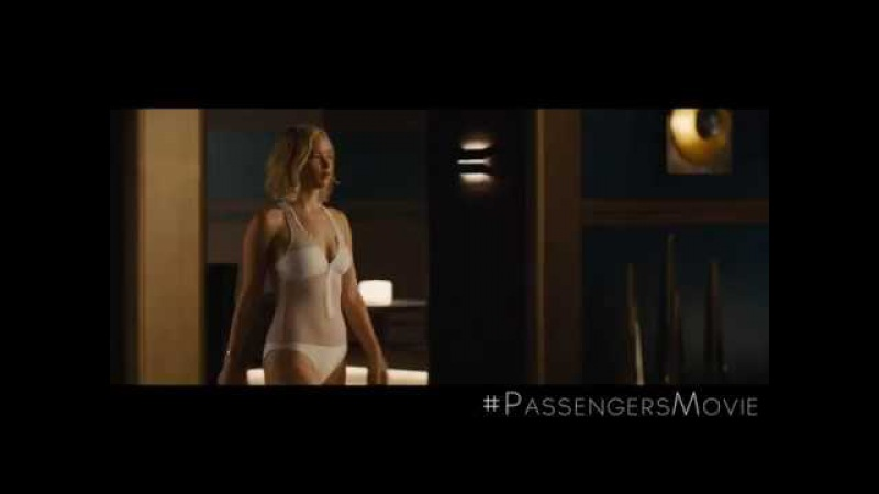 Exclusive: Gravity Fails Jennifer Lawrence in New 'Passengers' Clip 😱 PassengersMovie