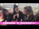 ELLE Interviews Alessandra Ambrosio Josephine Skriver Ming Xi Sui He for VS Loves China