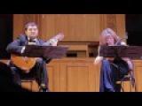 Бела Барток - Румынские танцы. С. Мусафина и А. Федулов. Bela Bartok - Romanian folk dances