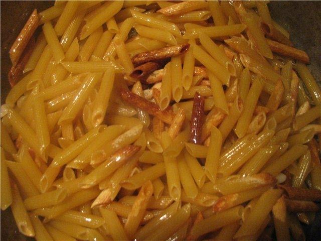 Армянская кухня Макароны по армянски