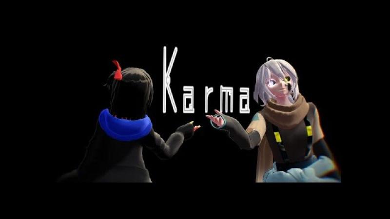 【MMD】【UndertaleAU Error x Ink 】Karma【DL】
