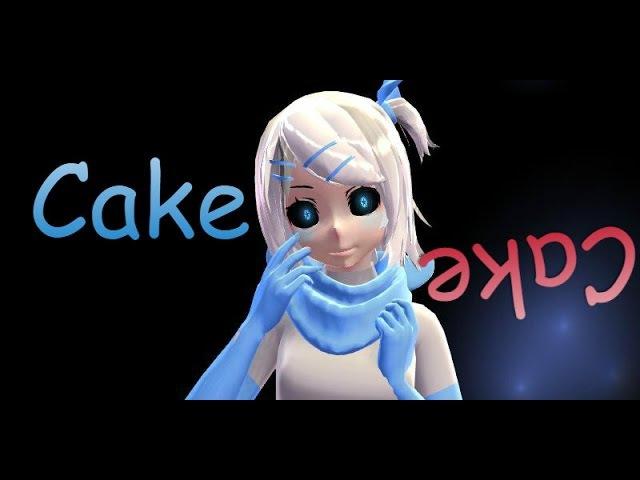 【MMD】【UnderSwap - Blue Berry】Cake【DL】