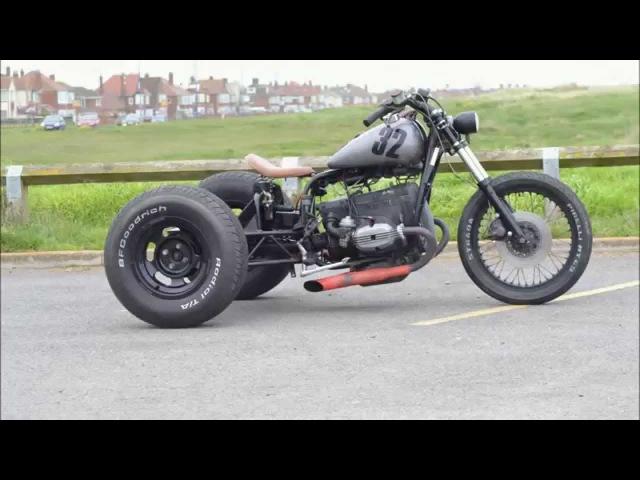 Custom build: Hot Rod / Chop Trike - Street Rod style BMW hard tail.
