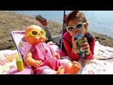 Кукла #БебиБон на Море