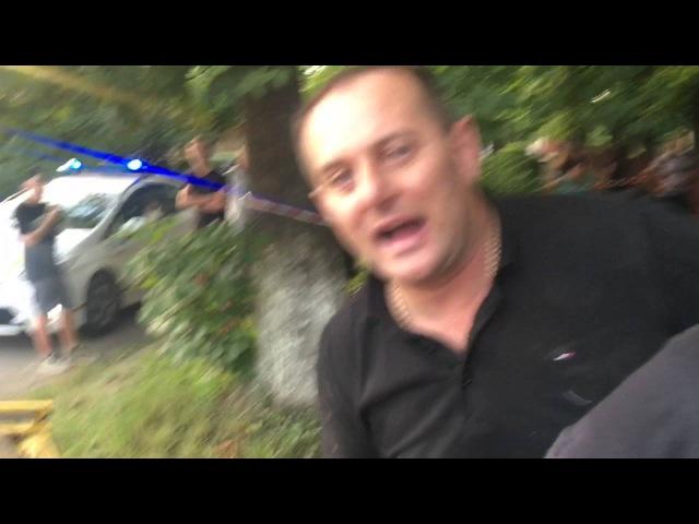 Відео П'яний ДАІшник накинувся на поліцію і журналіста