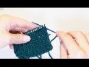 Закрытие петель резинки 1x1 иглой - самый простой способ / УРОКИ ВЯЗАНИЯ СПИЦАМИ для начинающих