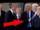 TRUMP pushes Montenegrin PM aside at NATO summit in Brussels 25.05.2017