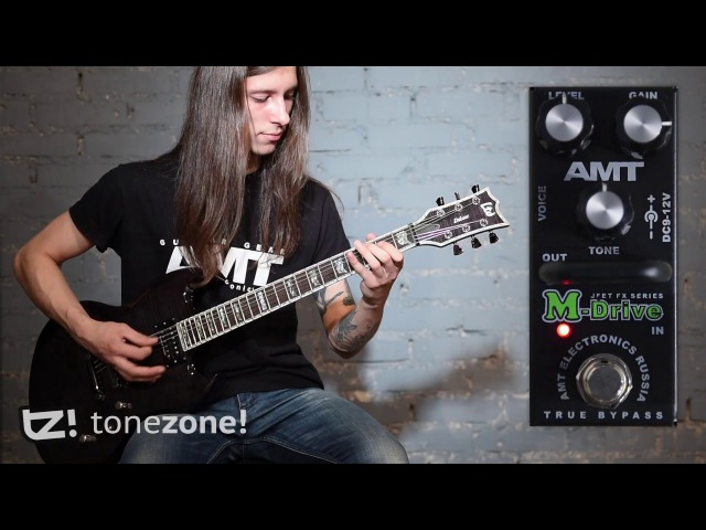 AMT Electronics Drive Mini Series Pedals Shootout – Humbuckers