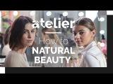 How to Natural Beauty MAKE UP AUFTRAGEN mit Stefanie Giesinger und Lena Meyer Landrut