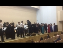 сводный оркестр на фестивале им Г И Гарлицкого