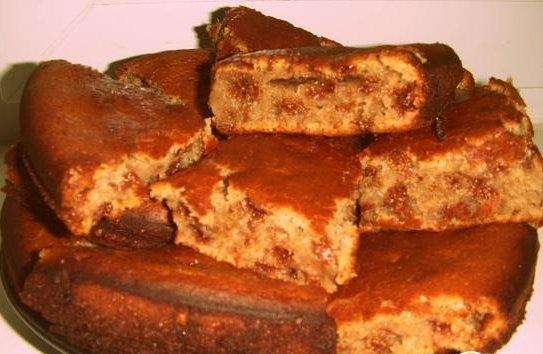 Рецепт пирога с вареньем в духовке с