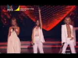 Валерия, Кристина Орбакайте и Мария Будницкая -