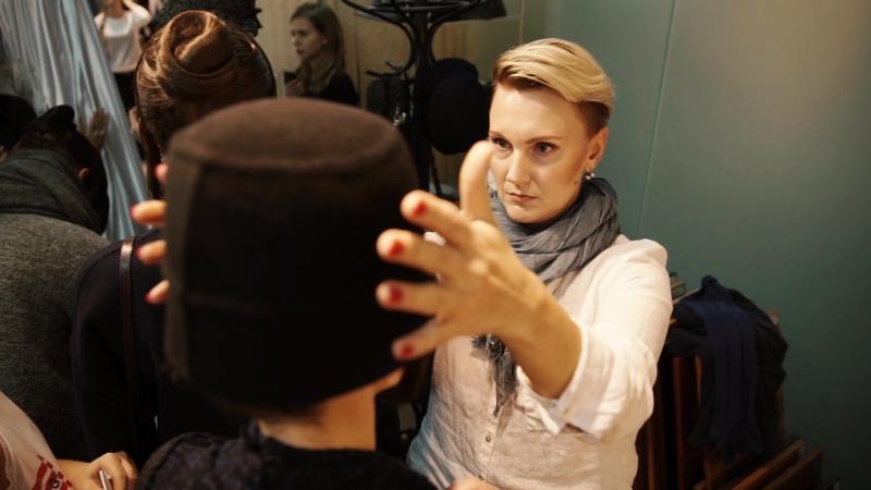 6 октября / Backstage показа осень-зима 16/17 дома моды SHATU