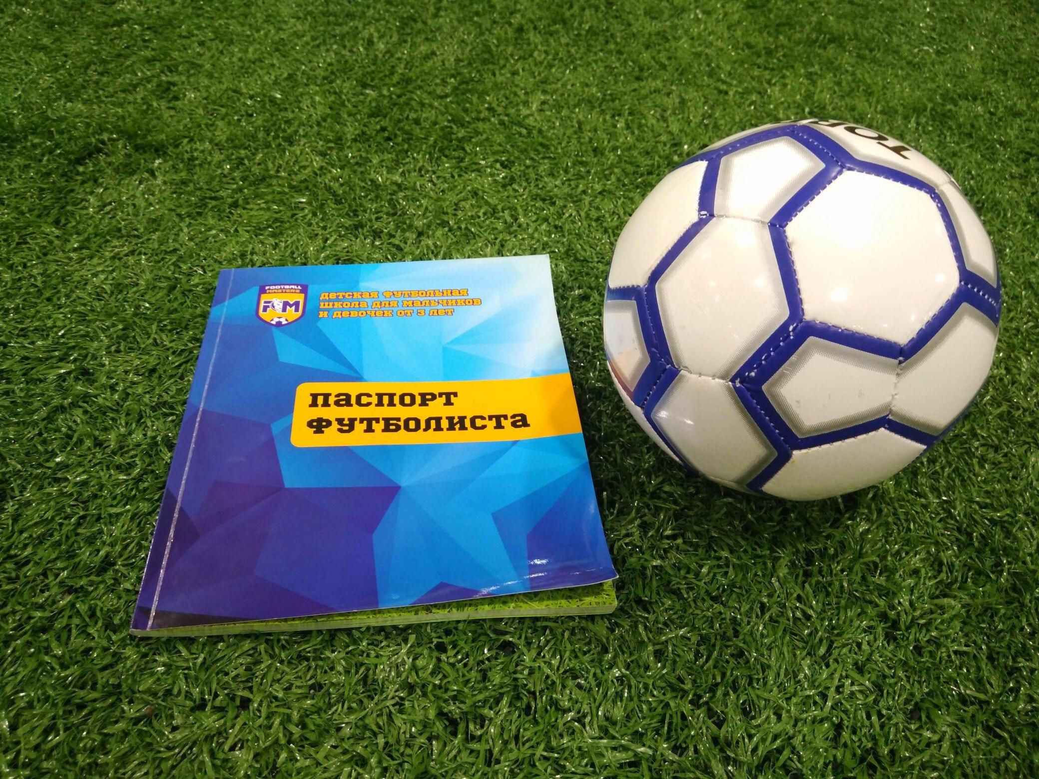 Детский дневник футбольной школы