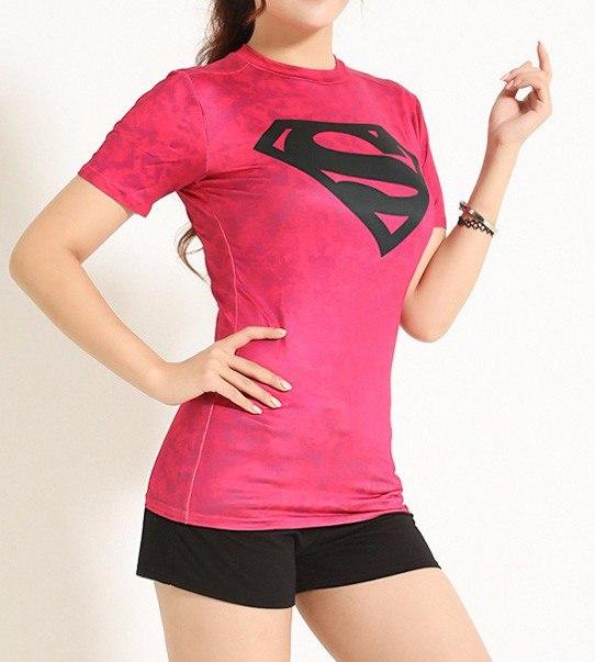 Женские супергеройские футболки