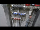 монтаж водопровода холодной и горячей воды и канализации
