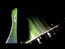 шоу поющих фантанов..лазерное..там же в Олимпийском парке..Адлер..