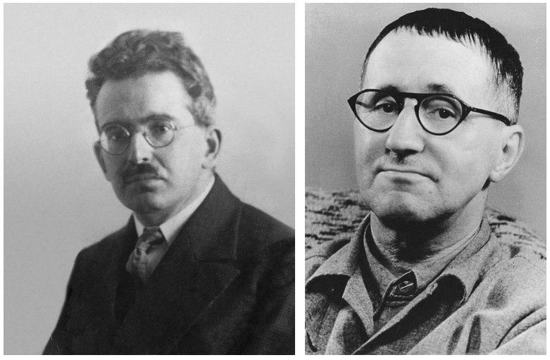 Бертольт Брехт и Вальтер Беньямин о функции критики