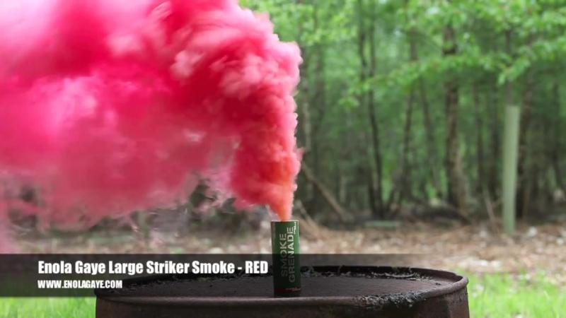 Smoke Grenade - RED (чиркаш)