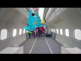 S7 Airlines _ OK Go, Upside down _ Inside out - ГравитацияПростоПривычка