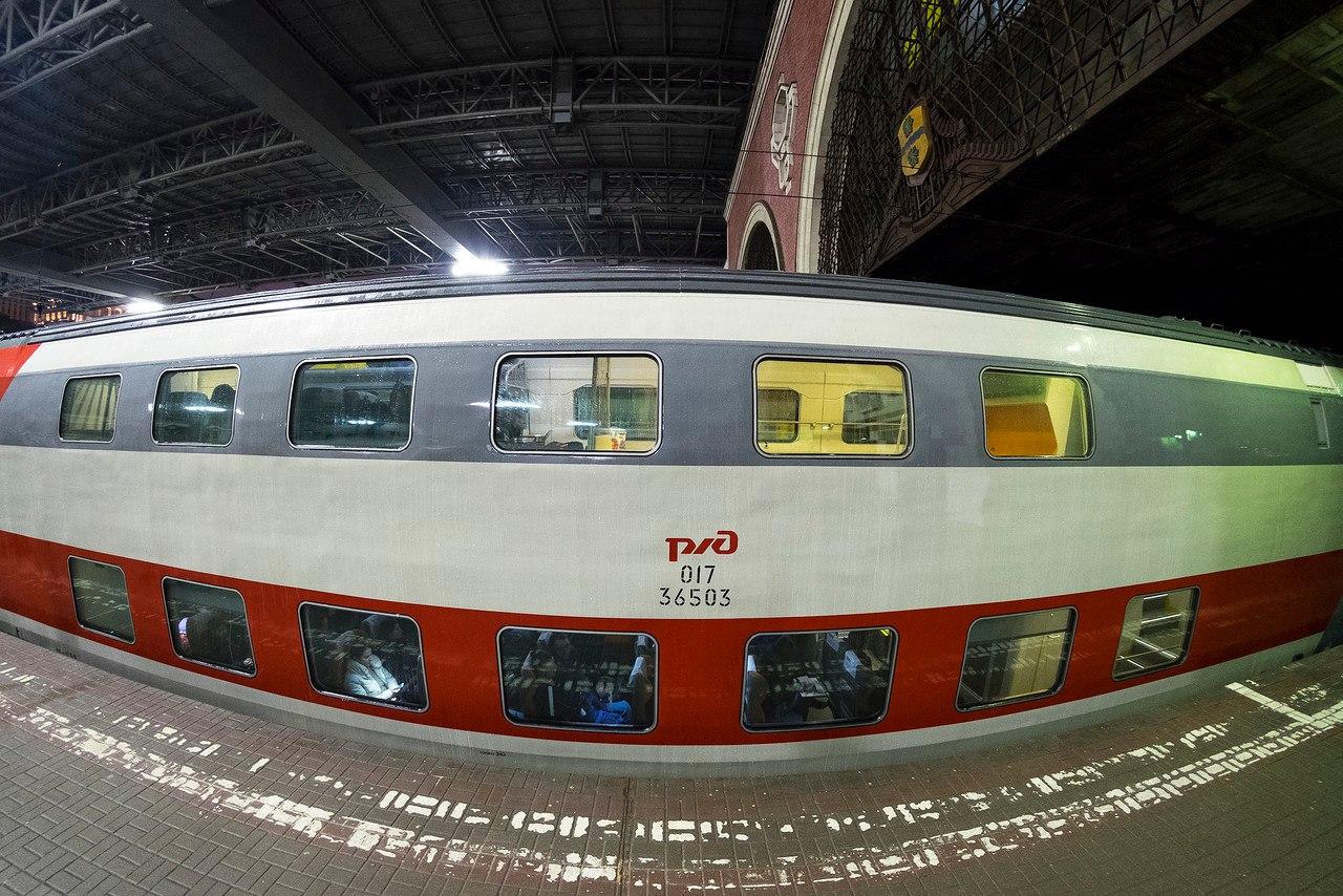 В сети появились фото нового поезда РЖД