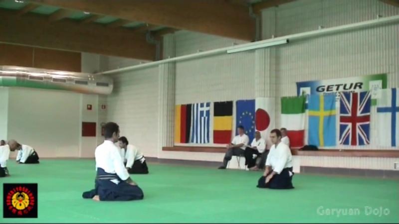 Ju Jutsu.Аттестация по Хонтай Йошин Рю Дзю Дзюцу.