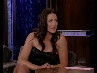 Bridget Regan au Jimmy Kimmel Live le 6 novembre 2008